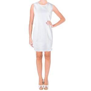 NWT Ralph Lauren Fray White Denim Dress Sz 4